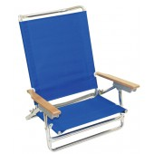 Rio SC590C 5 Position Beach Chair High Back