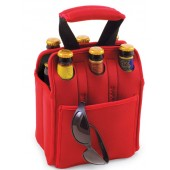 Picnic Time 608 Six-Pack Beverage Tote