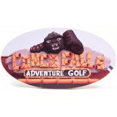 Shore Memories Congo Falls Adventure Golf Photo Plaque