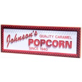 Shore Memories Johnson's Popcorn Photo Plaque