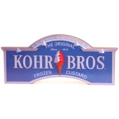 Shore Memories Kohr Brothers Frozen Custard Photo Plaque