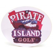 Shore Memories Pirate Island Miniature Golf Photo Plaque