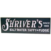 Shore Memories Shrivers Salt Water Taffy & Fudge Photo Plaque