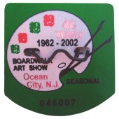 Shore Memories Ocean City NJ Beach Tag 2002 Photo Plaque