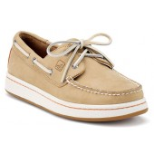 Sperry Top-Sider Mens Sperry Cup Boat Shoes Oatmeal