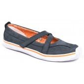 Sperry Top-Sider  Women's Portside Mary Jane Navy/Tangerine