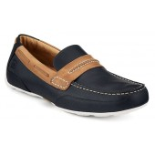 Sperry Top-Sider Men's Navigator Driver Shoes Navy/Tan