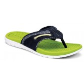 Sperry Top-Sider Men's Billfish UltraLite Thong Sandal Navy/Lime