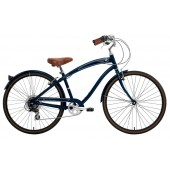 Nirve Starliner 7 Speed Men's Sport Cruiser 3846 Navy Blue