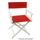 Telescope 50 World Famous Director Chair - White Frame Only