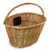 Nirve 1964 Wicker Basket with Quick Release - Light Brown